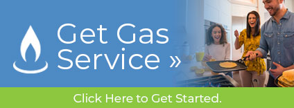 Get Gas Service. Click to Get Started »