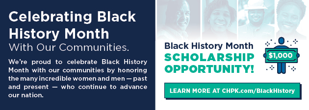 Celebrating Black History Month | Learn more about our Black History Scholarship
